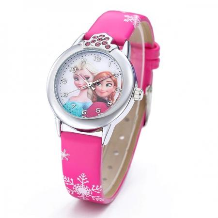 Montre fille Reine des Neiges Elsa et Anna Frozen
