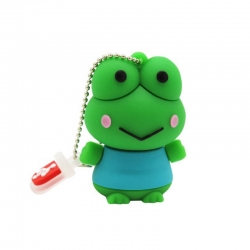 Clé USB Grenouille verte