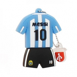 Clé USB maillot football Messi Argentine originale 32go